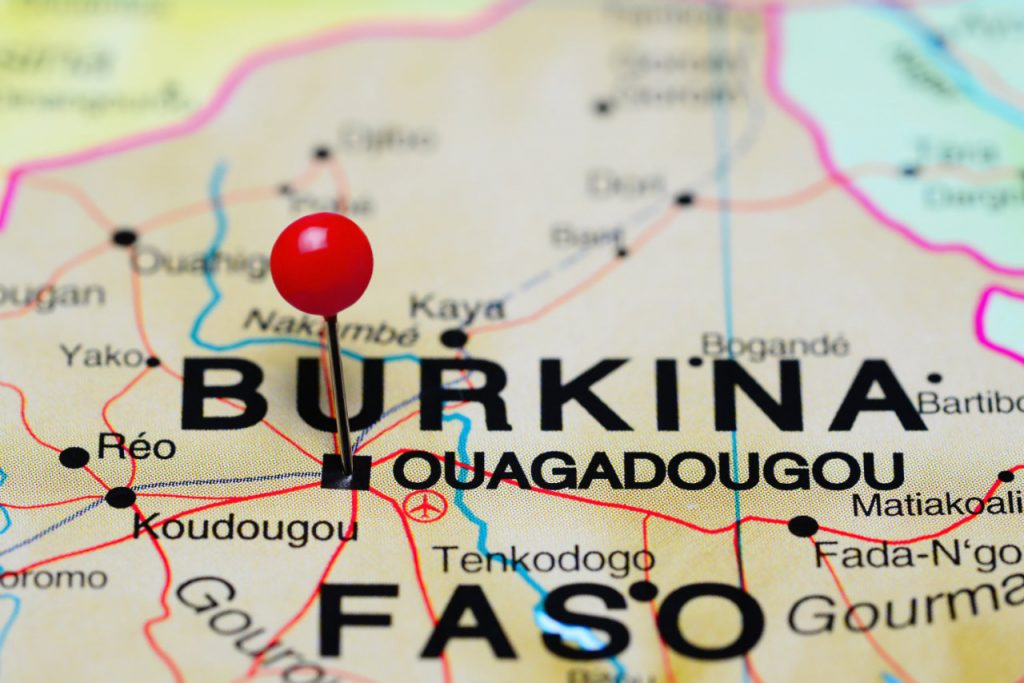 Burkina Faso place 2 go